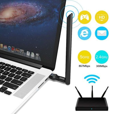 802.11 AC Wireless USB Adapter,Dual Band WiFi Adapter - IMILINK